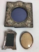 An Edwardian silver photograph frame, by H. Matthe