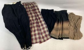 A quantity of ladies vintage clothing, dating from