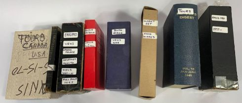 An interesting collection of stereoscope cards, sc