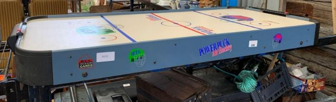 Powerpuck air hockey table