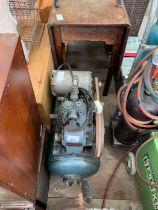 Shell oil belt compressor
