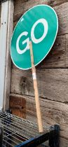 Stop & Go traffic sign