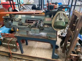 Metal cutting band saw by Tulico