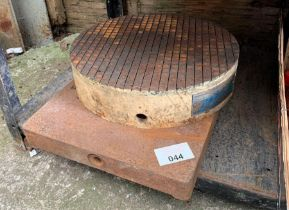 Engineers surface plate & lapping table