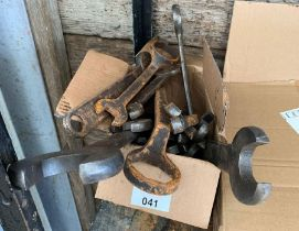 Army WWII era spanners & B.S.A spanner