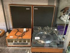 Garrard snychro lab 65 turntable, Armstrong S21 Am