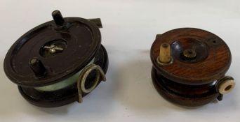 2 vintage fishing reels