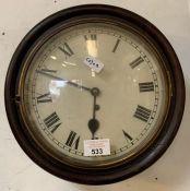 Victorian wall clock