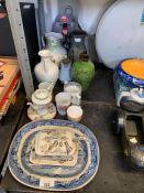 Paul Whalley studio pottery jug, Nicholas Hillyard