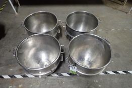 Hobart 80 quart SS bowl