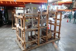 Meyer SS vibratory feed conveyor and hopper