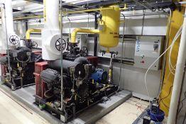 Crepaco 4 cylinder reciprocating ammonia compressor