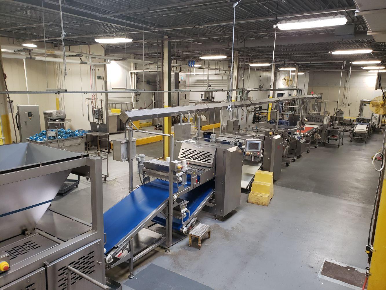 250,000 sq. ft. Baguette, Bun & Bread Equipment: Plant Closure of Signature Breads