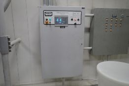 Smoot pressure transfer system control cabinet
