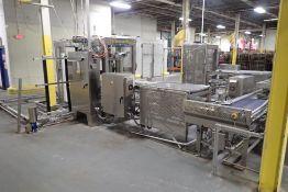 Robotray pan unloading/loading system