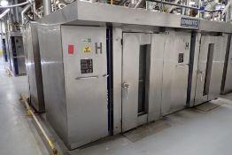 Adamatic double rack oven