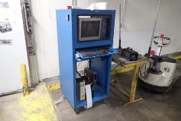 Production rolling computer cabinet
