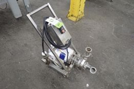SPX SS centrifugal pump