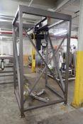 Hartman Scale 2-ton super sack unloading station