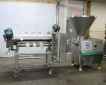 3-Color Twisted Candy Extrusion System