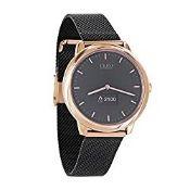 X-WATCH Hybrid Smart Watch Cleo XW Connect Women's Pedometer Wristwatch - Activity Tracker