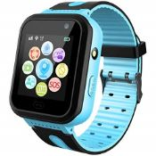 SmartWatch Waterproof for Kids with GPS Tracker
