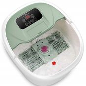 RRP £56.00 Foot Spa and Massager, Turejo Electric Foot Bath