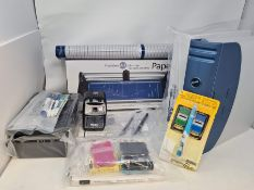 COMBINED RRP £148.00 LOT TO CONTAIN 13 ASSORTED Office Products: LAMY, Go, Parker, Helix, Q, Sa