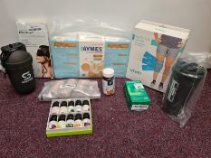 COMBINED RRP £91.00 LOT TO CONTAIN 9 ASSORTED Drugstore: ShakeSphere, Protein, Vive, Sleep, Pro