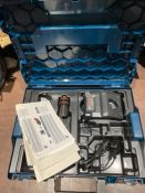 Case and Battery charger for Bosch Professional GUS 12 V-300 Cordless (no machine)