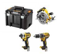 RRP £924.00 Dewalt DCK699M3T 18V 3 Piece Cordless Kit (3 piece + case)