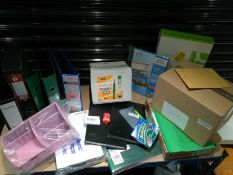 COMBINED RRP £250.00 LOT TO CONTAIN 19 ASSORTED Office Products: Desktop, BIC, Collins, Collins