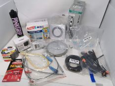 COMBINED RRP £129.00 LOT TO CONTAIN 13 ASSORTED Home Improvement: LIUMY, 24Volt, Universal, tes