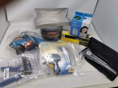 COMBINED RRP £105.00 LOT TO CONTAIN 8 ASSORTED Home Improvement: Garage, 150W, YIGII, Dial, Rap