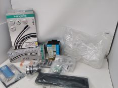 COMBINED RRP £131.00 LOT TO CONTAIN 12 ASSORTED Home Improvement: hansgrohe, 2pk, Socket, Silve