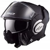 RRP £213.00 LS2 503991011M Motorradhelm Mat, VALIANT Mat, Sc