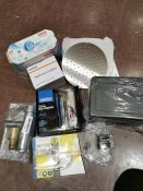 COMBINED RRP £109.00 LOT TO CONTAIN 8 ASSORTED Home Improvement: Self-Powered, Draper, Yale, GA