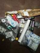 COMBINED RRP £142.00 LOT TO CONTAIN 18 ASSORTED Home Improvement: Vive, Powermaster, D-Line, St