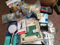 COMBINED RRP £126.00 LOT TO CONTAIN 12 ASSORTED Home Improvement: Unibond, AIKZIK, VELCRO, Sika