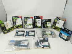 COMBINED RRP £327.00 LOT TO CONTAIN 12 ASSORTED Cardriges Products: HP, HP, HP, HP, HP, HP, HP, HP