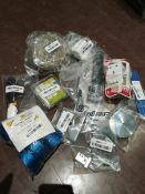 COMBINED RRP £102.00 LOT TO CONTAIN 11 ASSORTED Home Improvement: Tungsten, 3M, Stanley, Energi
