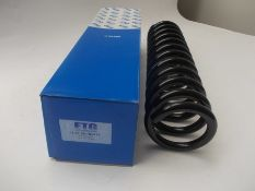 RRP £4778 - (NEW) 138x Front spring (124 321 2104), OE-Manufacturer: MERCEDES-BENZ