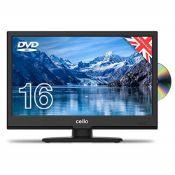 "RRP £189.00 Cello C1620FS/ZSF0261 16"" inch Full HD LED TV/DV"