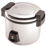 RRP £149.00 Buffalo Electric Rice Cooker 6Ltr 345X460X400mm