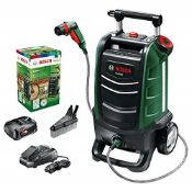 RRP £166.00 Bosch 06008B6001 Cordless Outdoor Cleaners, 45 W