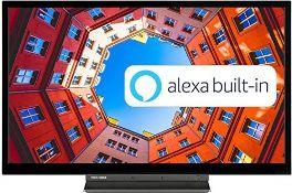 RRP £199.00 Toshiba 32WK3A63DB 32-Inch HD Ready Smart TV wit