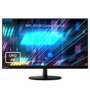 RRP £267.00 Lenovo L28u-30 28 Inch 4K Monitor (IPS Panel, 60