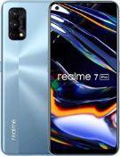 RRP £279.00 Realme 7 Pro Mirror Silver, 8+128GB, 6.4 AMOLED