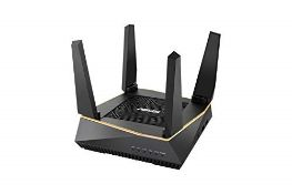 RRP £180.00 ASUS RT-AX92U AX6100 Tri-Band Whole Home Mesh Wi-Fi System Large and Multi-Story Homes