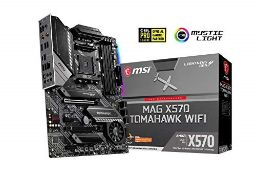 RRP £206.00 MSI MAG X570 Tomahawk Wifi Arsenal Motherboard (AMD X570, 2x PCI-E 4.0 x16, RAID 0, 1,